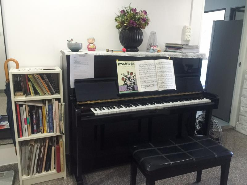 Home Piano and Art Lessons