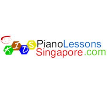 Female piano teacher teaching beginners